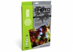 Фотобумага Cactus CS-GA418050 A4, 180г/м2, 50л., белый глянцевое для струйной печати - фото 4467