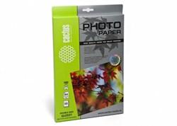 Фотобумага Cactus CS-GA418050DS A4, 180г/м2, 50л., белый глянцевое для струйной печати - фото 4470
