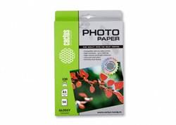 Фотобумага Cactus CS-GA523050 A5, 230г/м2, 50л, белая глянцевая для струйной печати - фото 4477