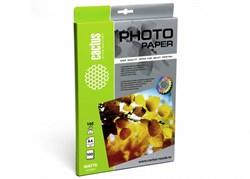 Фотобумага Cactus CS-MA4140100 A4, 140г/м2, 100л, белая матовая для струйной печати - фото 4483