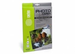 Фотобумага Cactus CS-GA323050 A3, 230г/м2, 50л., белый глянцевое для струйной печати - фото 4497