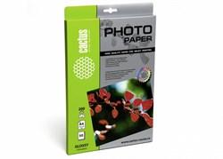 Фотобумага Cactus CS-GA420050 A4, 200г/м2, 50л., белый глянцевое для струйной печати - фото 4500
