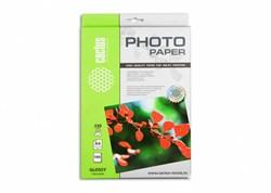 Фотобумага Cactus CS-GA4230100 A4, 230г/м2, 100л., белый глянцевое для струйной печати - фото 4501