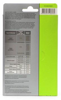 Фотобумага глянцевая Cactus CS-GA618025 10x15, 180г/м2, 25л. - фото 4506
