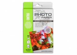 Фотобумага Cactus CS-GA6200100 A6, 200г/м2, 100л., белый глянцевое для струйной печати - фото 4509