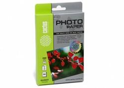 Фотобумага Cactus CS-GA620050, 200г/м2, 50л., белый глянцевое для струйной печати - фото 4513
