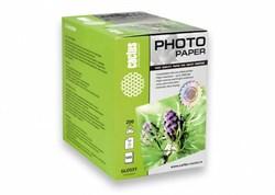 Фотобумага Cactus CS-GA6200500 10x15, 200г/м2, 500л, белая глянцевая для струйной печати - фото 4514