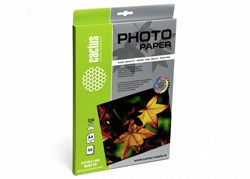 Фотобумага Cactus CS-MA422050DS A4, 220г/м2, 50л., белый матовое, матовое для струйной печати - фото 4553
