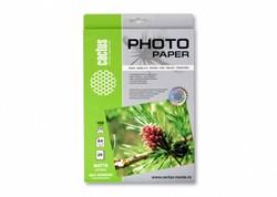 Фотобумага Cactus CS-MSA410020 A4, 100г/м2, 20л. матовое самоклей. для струйной печати - фото 4574