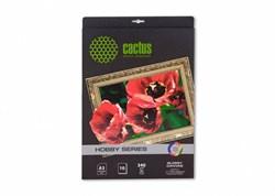 Холст Cactus CS-СGA32601 A3, 340г/м2, 10л. глянцевое хлопок для струйной печати - фото 4594