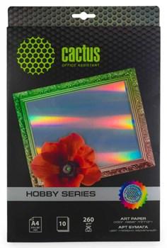Фотобумага Cactus CS-DA426010M A4, 260г/м2, 10л, для струйной печати - фото 4600
