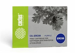 Матричный картридж Cactus CS-ERC09 (ERC-09) пурпурный для Epson ERC09 - фото 4628