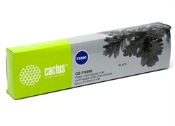 Матричный картридж Cactus CS-FX890 (S015329) черный для Epson FX-890, LQ-590 - фото 4636