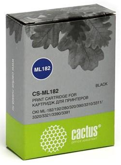 Матричные картриджи Cactus CS-ML182 черный для Oki ML-182, 192, 280, 320, 390 - фото 4644