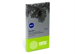 Матричный картридж Cactus CS-ND77 (01750075146) пурпурный для Nixdorf ND77 - фото 4645