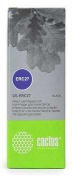 Матричные картриджи Cactus CS-ERC27 черный для Epson ERC 27 - фото 4656