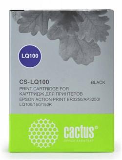 Матричные картриджи Cactus CS-LQ100 черный для Epson LQ-100, AP-3250 - фото 4659