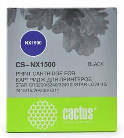 Матричные картриджи Cactus CS-NX1500 черный для Star NX-1500, 24xx, LC-8211 - фото 4660