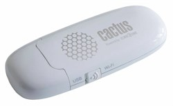 Флеш Диск Cactus 8Gb iShowDrive CS-ISHOWDRIVE-8GB Wi-Fi белый - фото 4702