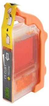 Струйный картридж Cactus CS-CLI8Y (0623B024) желтый для Canon Pixma iP4200, iP4300, iP4500, iP5100, iP5200, iP5300, iP6600, iP6700, iP7500, iP7600, MP500, MP530, MP600, MP610, MP800, MP810, MP830, MP950, MP960, MP970, MX850, PRO-9000 (490 стр.) - фото 4928