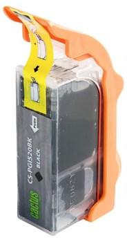 Струйный картридж Cactus CS-PGI520BK (2932B004) черный для Canon Pixma iP3600, iP4600, iP4600x, iP4700, MP540, MP540x, MP550, MP560, MP620, MP620B, MP630, MP640, MP660, MP980, MP990, MX860, MX870 (350 стр.) - фото 4949