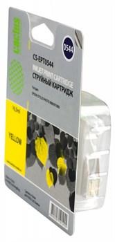 Струйный картридж Cactus CS-EPT0544 (C13T05444010) желтый для принтеров Epson Stylus Photo R800, R1800 (16,2 мл.) - фото 5116