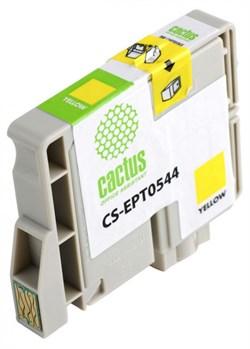 Струйный картридж Cactus CS-EPT0544 (C13T05444010) желтый для принтеров Epson Stylus Photo R800, R1800 (16,2 мл.) - фото 5117