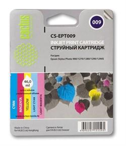 Струйный картридж Cactus CS-EPT009 (C13T00940110) цветной для принтеров Epson Stylus Photo 900, 1270, 1290 (330 стр.) - фото 5209