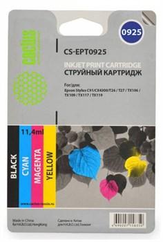 Струйный картридж Cactus CS-EPT0925 (T0925) набор для принтеров Epson Stylus C91, C240, CX4300, T26, T27, TX106, TX109, TX117, TX119 (27,8 мл.) - фото 5349