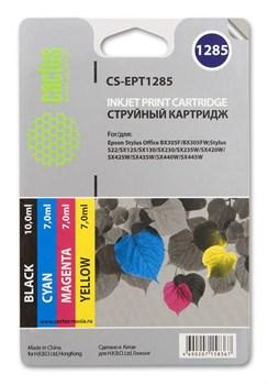Струйный картридж Cactus CS-EPT1285 (C13T12854010) набор для принтеров Epson Stylus S22, S125, SX130, SX230, SX235W, SX420W, SX425W, SX430W, SX435W, SX440W, SX445W, Office BX305F (4 x 270 стр.) - фото 5364
