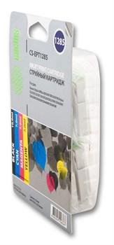 Струйный картридж Cactus CS-EPT1285 (C13T12854010) набор для принтеров Epson Stylus S22, S125, SX130, SX230, SX235W, SX420W, SX425W, SX430W, SX435W, SX440W, SX445W, Office BX305F (4 x 270 стр.) - фото 5365