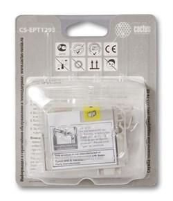 Струйный картридж Cactus CS-EPT1293 (C13T12934011) пурпурный для принтеров Epson Stylus SX230, SX235W, SX420W, SX425W, SX430W, SX435W, SX440W, SX445W, SX525WD, SX535WD, Stylus Office B42WD, BX305F, BX320FW, BX625FWD, BX635FWD, WorkForce WF-3520DWF, WF-701 - фото 5379