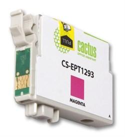 Струйный картридж Cactus CS-EPT1293 (C13T12934011) пурпурный для принтеров Epson Stylus SX230, SX235W, SX420W, SX425W, SX430W, SX435W, SX440W, SX445W, SX525WD, SX535WD, Stylus Office B42WD, BX305F, BX320FW, BX625FWD, BX635FWD, WorkForce WF-3520DWF, WF-701 - фото 5380