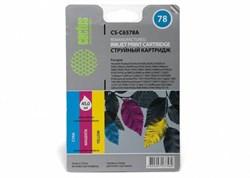 Струйный картридж Cactus CS-C6578A (HP 78XL) цветной увеличенной емкости для HP DeskJet 916, 920, 940, 950, 980, 1180, 1220, 3810, 9300; OfficeJet 5105, 5110, G85, K80, V45; PhotoSmart 1100, 1215, 1315, P1100; PSC 720, 950; Fax 1220, 1230 (45 мл.) - фото 5555