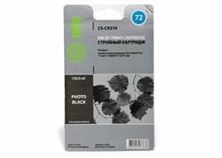 Струйный картридж Cactus CS-C9370 (HP 72) фото-черный для HP DesignJet SD Pro MFP, T610, T620, T770, T790, T795, T1100, T1100 MFP, T1100PS, T1120, T1120 HD, T1120 SD, T1200, T1200 HD, T1200ps, T1300, T2300 eMFP, T2300ps eMFP (130 мл.) - фото 5688