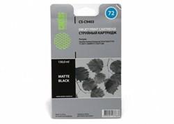 Струйный картридж Cactus CS-C9403 (HP 72) черный для HP DesignJet SD Pro MFP, T610, T620, T770, T790, T1100, T1100 MFP, T1100ps, T1120, T1120hd, T1120sd, T1200, T1200hd, T1200ps, T1300, T2300 eMFP, T2300ps eMFP (130 мл) - фото 5724