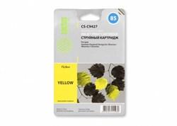 Струйный картридж Cactus CS-C9427 (HP 85) желтый для HP DesignJet 30, 30gp, 30n, 90, 90gp, 90r, 130, 130de, 130gp, 130nr, 130r (72 мл.) - фото 5736