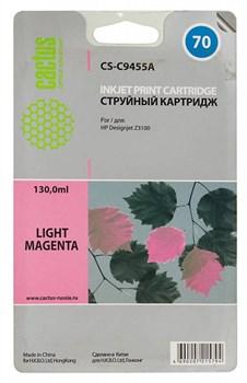 Струйный картридж Cactus CS-C9455A (HP 70) светло-пурпурный для HP DesignJet Z2100, Z2100gp, Z3100, Z3100gp, Z3100ps gp, Z3200, Z3200ps, Z5200, Z5400 ePrinter, Z5400ps PostScript (130 мл) - фото 5750