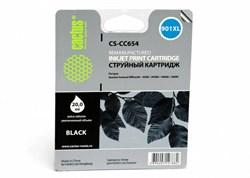Струйный картридж Cactus CS-CC654 (HP 901XL) черный увеличенной емкости для HP OfficeJet 4500 series, 4500 G540a, 4500 G540g, 4500 G540n, J4524, J4535, J4580, J4624, J4660, J4680 (20 мл.) - фото 5830
