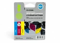 Струйный картридж Cactus CS-CC656 (HP 901) цветной для HP OfficeJet 4500 series, G540a, G540g, G540n, J4524, J4535, J4580, J4624, J4660, J4680 (18 мл) - фото 5834