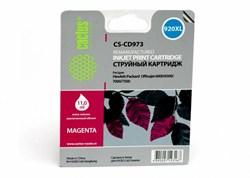 Струйный картридж Cactus CS-CD973 (HP 920XL) пурпурный увеличенной емкости для HP OfficeJet 6000 Pro, 6500, 6500a, 7000, 7500, 7500a (e910a) (11 мл.) - фото 5843