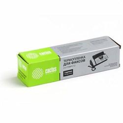 Термопленка Cactus CS-TTRBPC72 (PC-72RF) черный для принтеров FAX-T72, FAX-T74, FAX-T76, FAX-T78, FAX-T82, FAX-T84, FAX-T86, FAX-T92, FAX-T94, FAX-T96, FAX-T98, FAX-T102, FAX-T104 (2 x 150 стр.) - фото 5913