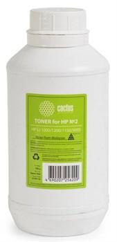 Тонер для принтера Cactus CS-THP2-150 черный (флакон 150гр) HP LJ 1000, 1200, 1150, 9000 - фото 5947