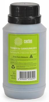Тонер для принтера Cactus CS-TSG2-100 черный (флакон 100гр) Samsung ML 2160, 2165,  SCX 3400 - фото 5955