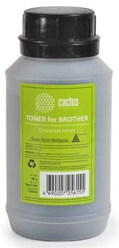 Тонер для принтера Cactus CS-TBR-100 черный (флакон 100 гр.) для принтера Universal toner Brother - фото 5957
