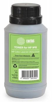 Тонер для принтера Cactus CS-THP8BK-90 черный для картриджаHP CC530A и его аналога Cactus CS-CC530A (флакон 90 гр.) - фото 5968