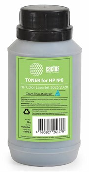 Тонер для принтера Cactus CS-THP8C-70 голубой (флакон 70гр) HP  Color LaserJet 2025, 2320 - фото 5969