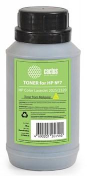 Тонер для принтера Cactus CS-THP8Y-70 желтый (флакон 70гр) HP  Color LaserJet 2025, 2320 - фото 5971
