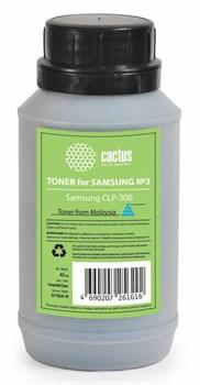 Тонер для принтера Cactus CS-TSG3C-45 голубой для картриджаSamsung CLP-C300A и его аналога Cactus CS-CLP-C300A. (флакон 45 гр.) - фото 5973