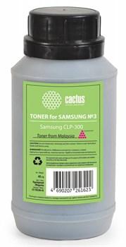 Тонер для принтера Cactus CS-TSG3M-45 пурпурный (флакон 45 гр.) для принтера Samsung CLP-300 - фото 5974